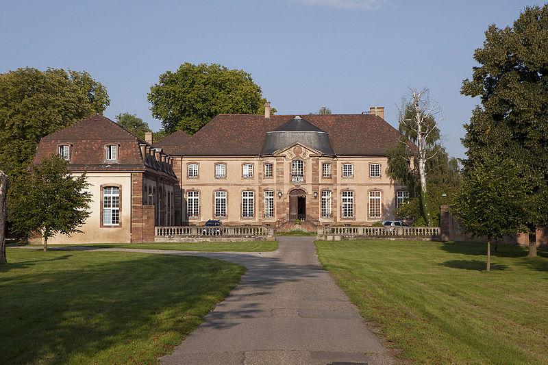 Photo du Monument Historique Domaine de la Cour d'Angleterre ou du jardin d'Angleterre situé à Bischheim