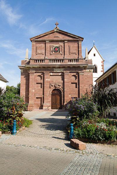 Photo du Monument Historique Eglise protestante situé à Bischheim