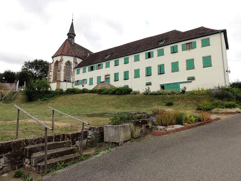 Photo du Monument Historique Couvent de Bischenberg (église catholique Notre-Dame) situé à Bischoffsheim