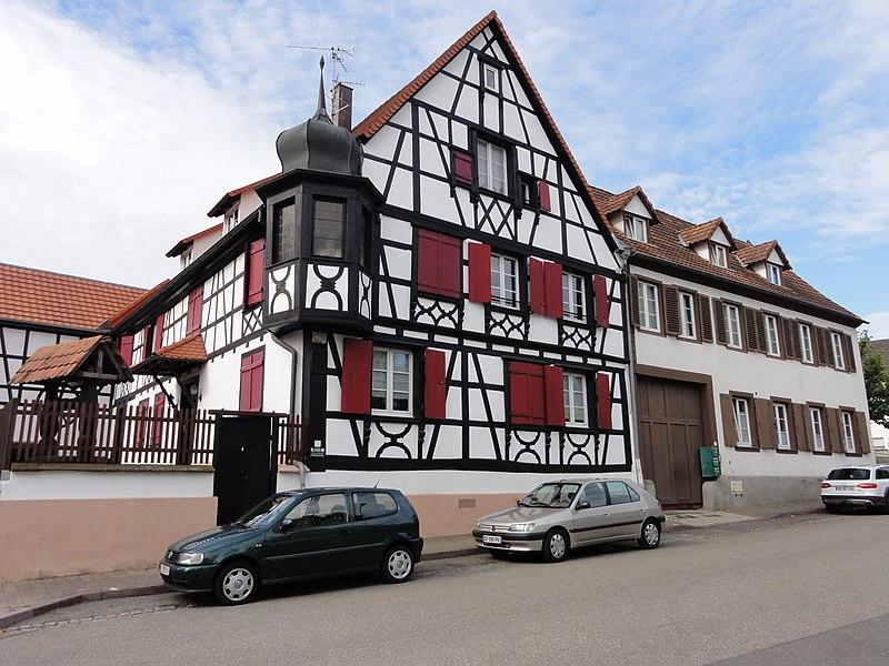 Photo du Monument Historique Ancienne pharmacie de la cour princière situé à Bischwiller