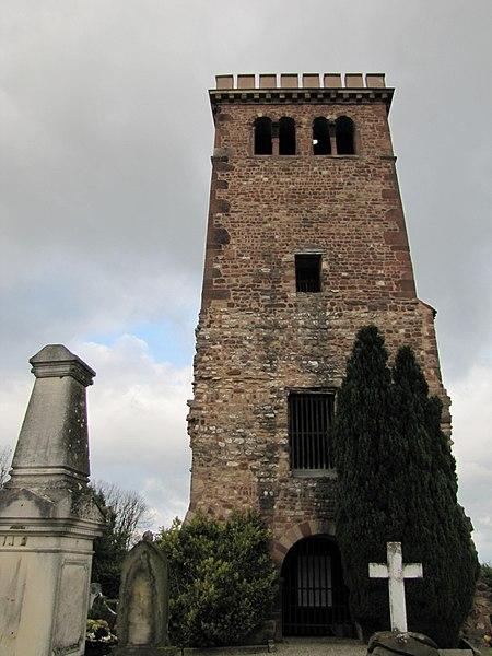 Photo du Monument Historique Tour sur le Gloeckelsberg situé à Blaesheim