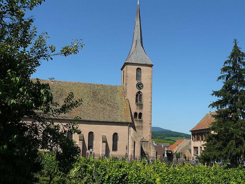 Photo du Monument Historique Eglise catholique des Saints-Innocents situé à Blienschwiller