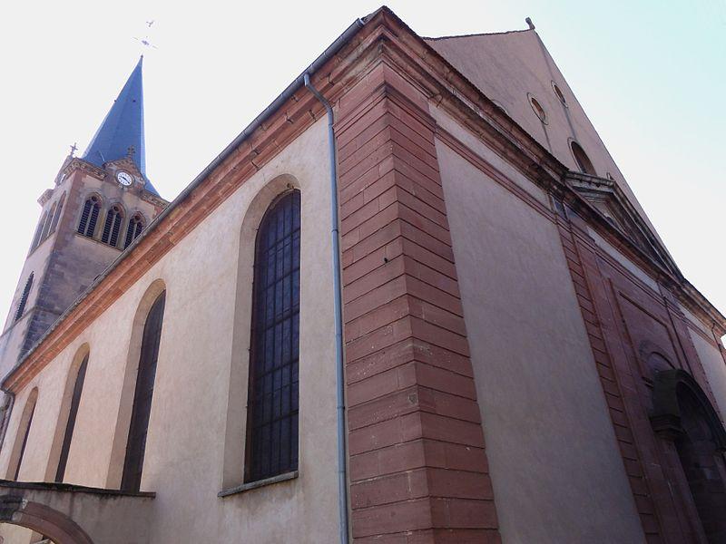 Photo du Monument Historique Eglise catholique Saint-Médard situé à Boersch