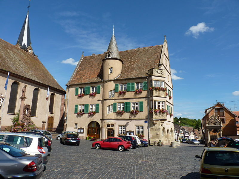 Photo du Monument Historique Hôtel de ville situé à Boersch