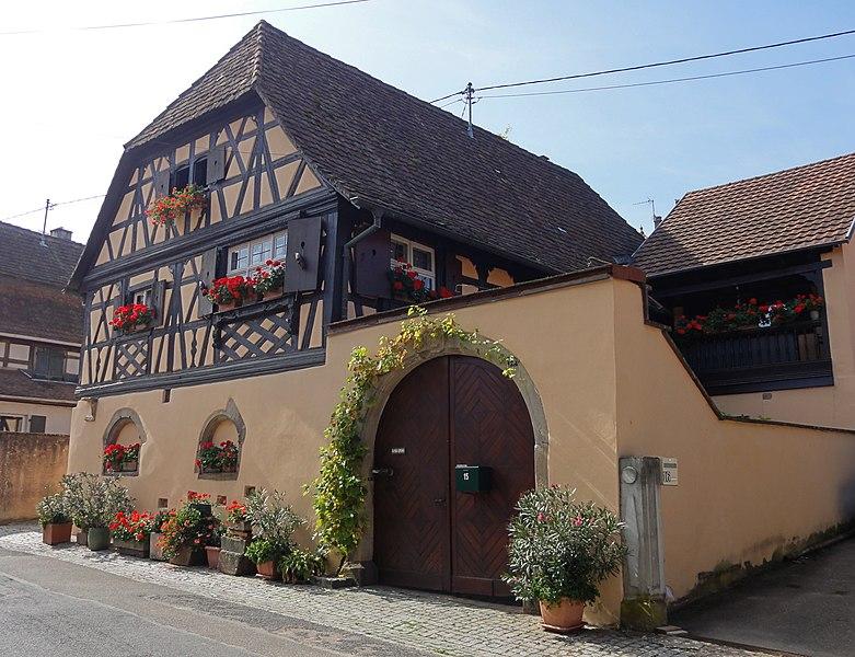 Photo du Monument Historique Maison situé à Boersch