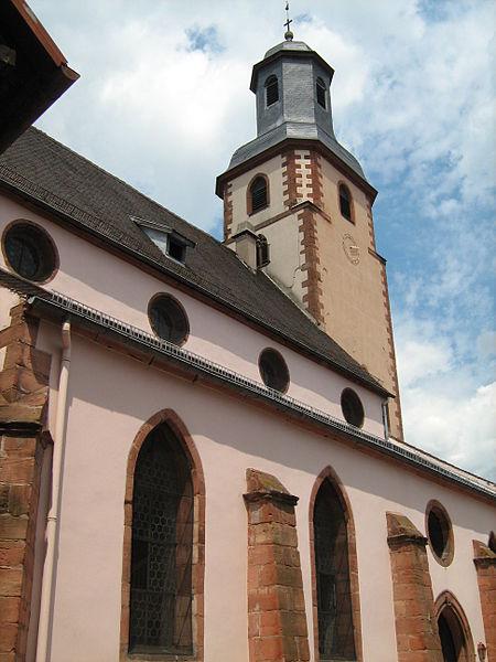 Photo du Monument Historique Eglise protestante situé à Bouxwiller