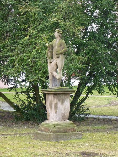 Photo du Monument Historique Jardin de l'Hôpital situé à Bouxwiller