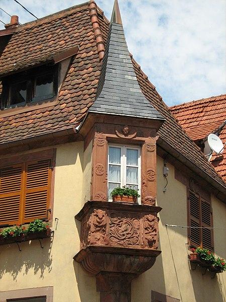 Photo du Monument Historique Maison situé à Bouxwiller