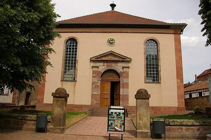 Photo du Monument Historique Ancienne synagogue situé à Bouxwiller