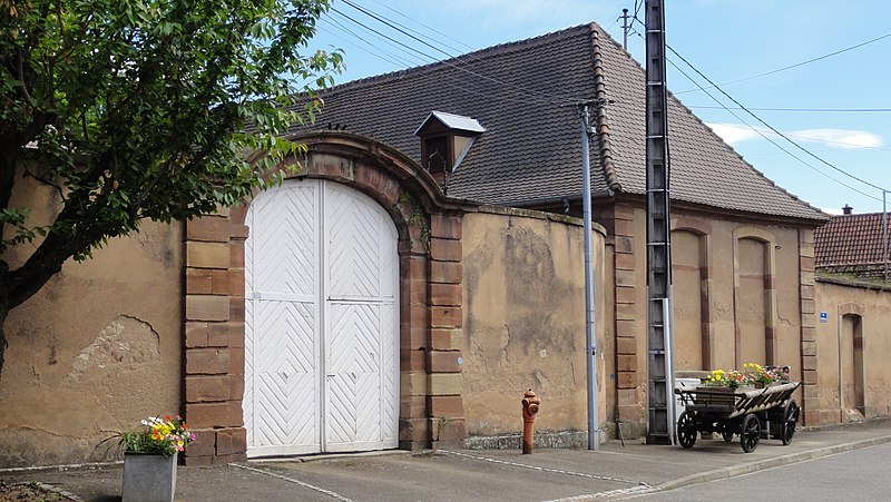 Photo du Monument Historique Château Hervé ou Bourcart situé à Dachstein