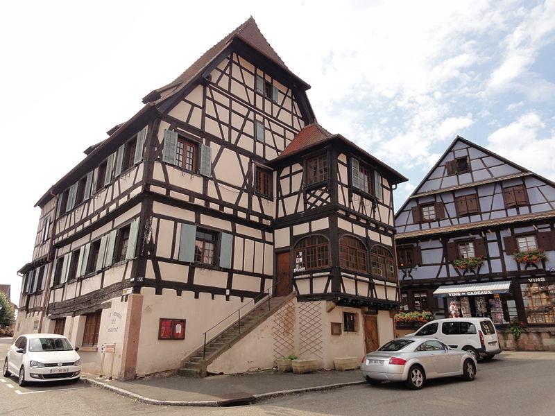 Photo du Monument Historique Auberge de la Couronne situé à Dambach-la-Ville