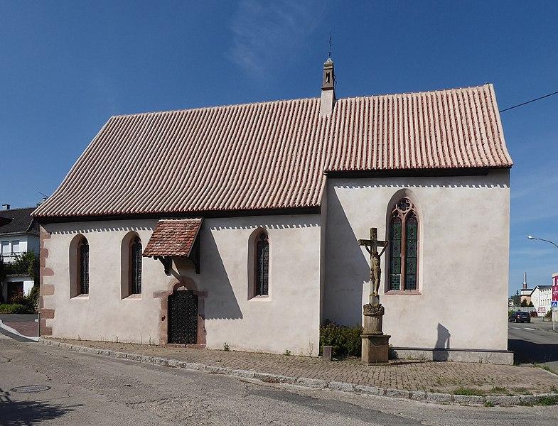 Photo du Monument Historique Chapelle Notre-Dame ou chapelle de la Vierge situé à Dambach-la-Ville