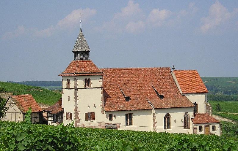Photo du Monument Historique Chapelle de Saint-Sébastien situé à Dambach-la-Ville