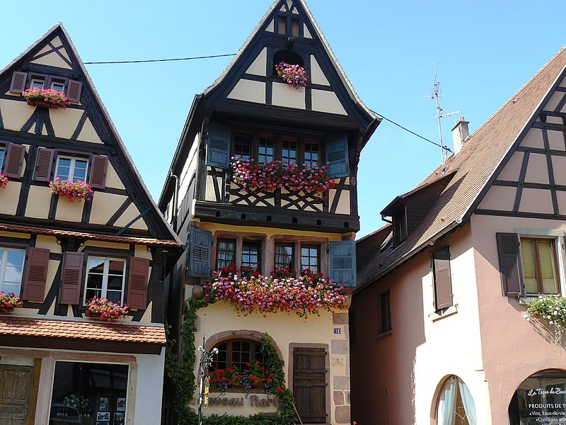 Photo du Monument Historique Maison situé à Dambach-la-Ville
