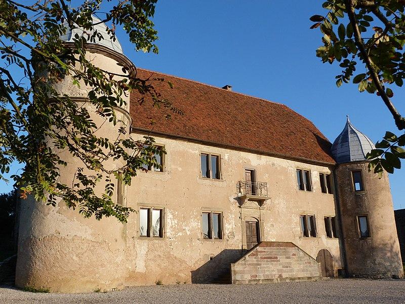 Photo du Monument Historique Ancien château Streif de Lauenstein situé à Diedendorf