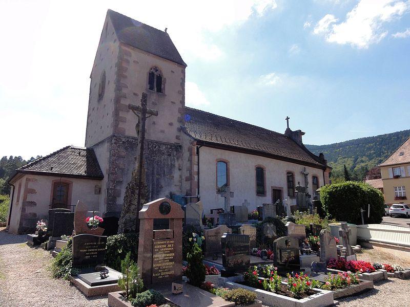 Photo du Monument Historique Eglise catholique Saint-Laurent situé à Dieffenbach-au-Val