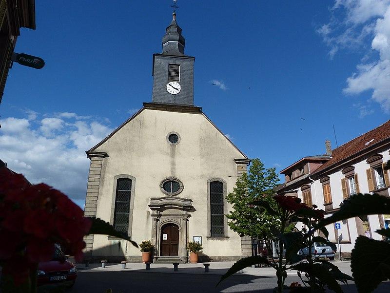 Photo du Monument Historique Eglise protestante situé à Diemeringen