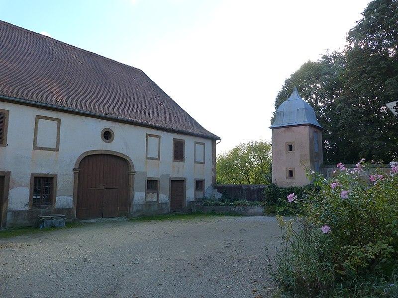 Photo du Monument Historique Domaine situé à Drulingen