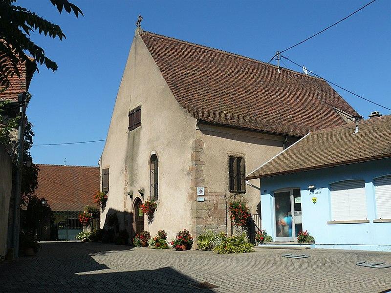Photo du Monument Historique Chapelle Saint-Jean-Baptiste situé à Eichhoffen