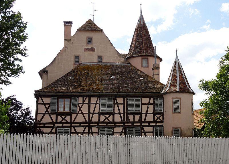 Photo du Monument Historique Château d'Urendorf situé à Ernolsheim-Bruche