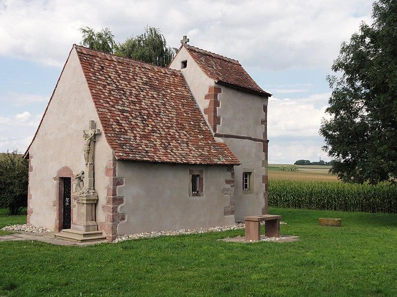 Photo du Monument Historique Chapelle Sainte-Marguerite situé à Fessenheim-le-Bas