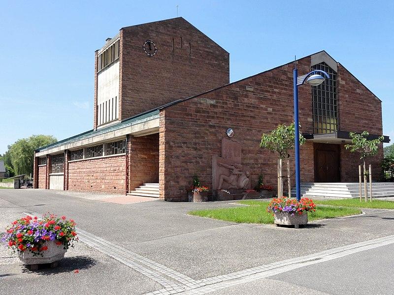 Photo du Monument Historique Eglise catholique Saint-Louis situé à Fort-Louis