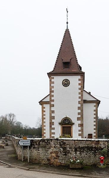 Photo du Monument Historique Eglise protestante de Mitschdorf situé à Goersdorf