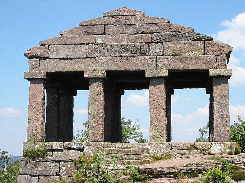 Photo du Monument Historique Sommet et musée du Donon situé à Grandfontaine