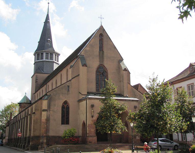 Photo du Monument Historique Eglise Saint-Nicolas situé à Haguenau