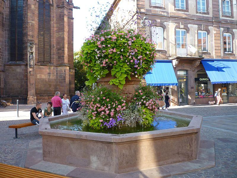 Photo du Monument Historique Fontaine situé à Haguenau
