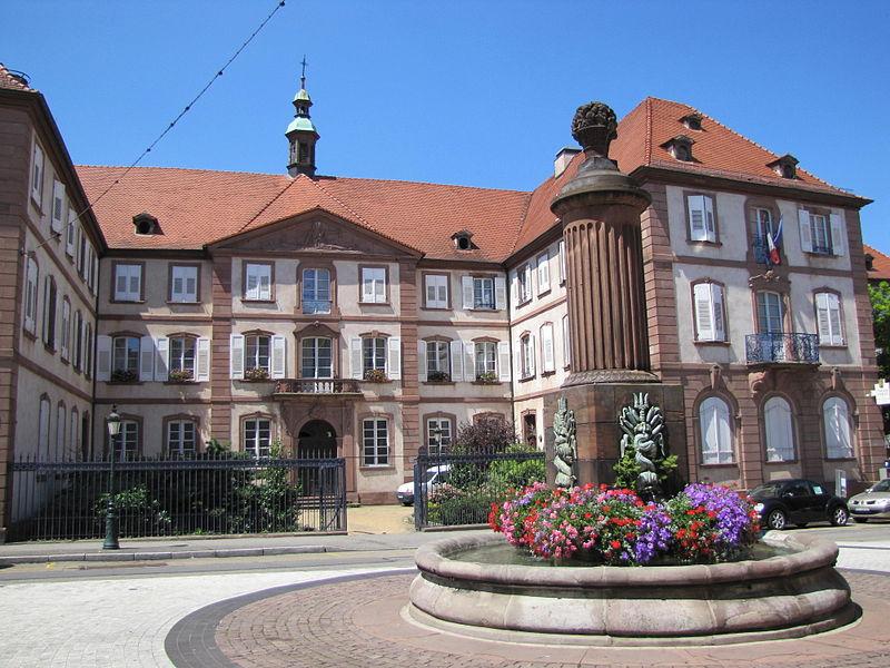 Photo du Monument Historique Hôpital civil situé à Haguenau