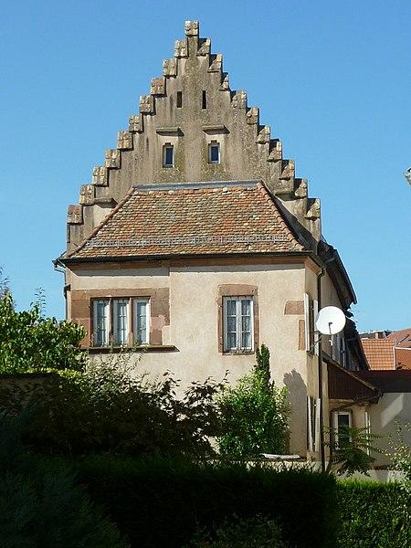 Photo du Monument Historique Ancien Hôtel de Fleckenstein situé à Haguenau