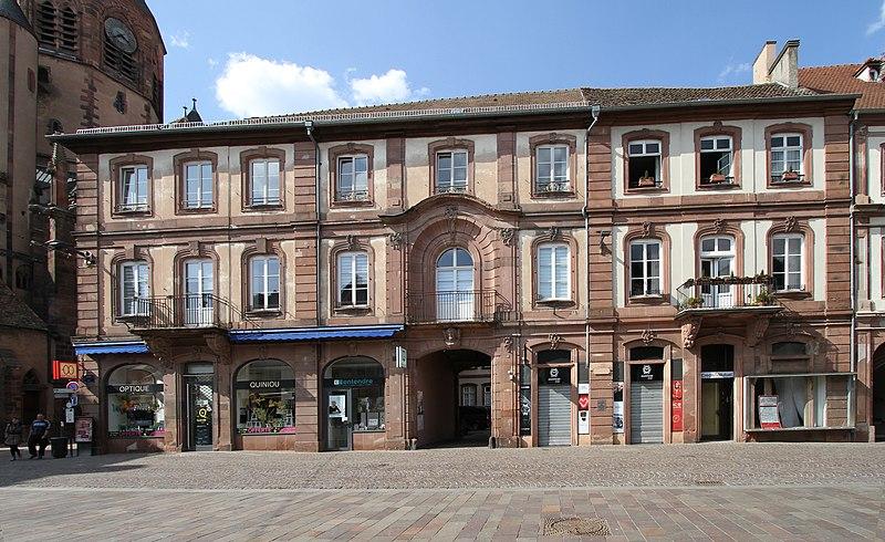 Photo du Monument Historique Ancien Hôtel du bailli Hoffmann situé à Haguenau