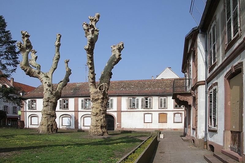 Photo du Monument Historique Ancien Hôtel du Commandant-de-la-Place situé à Haguenau