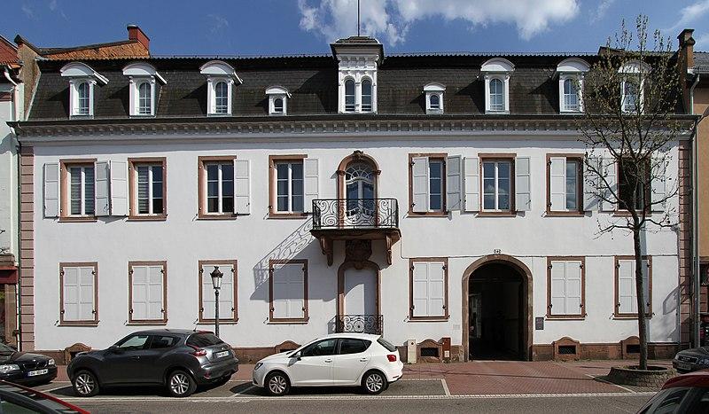 Photo du Monument Historique Ancien Hôtel de Koenigsbruck situé à Haguenau
