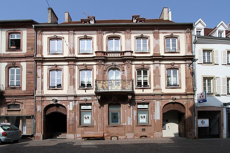 Photo du Monument Historique Ancien Hôtel Barth situé à Haguenau