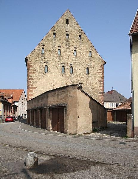 Photo du Monument Historique Grenier Saint-Georges situé à Haguenau
