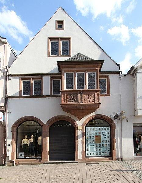 Photo du Monument Historique Maison situé à Haguenau