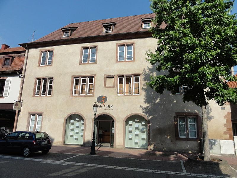 Photo du Monument Historique Ancienne maison A la Cour verte situé à Haguenau