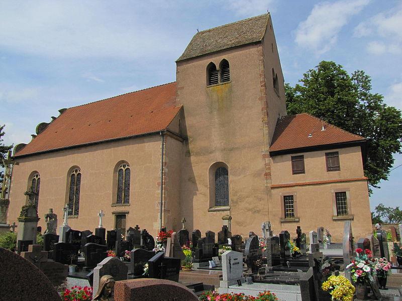 Photo du Monument Historique Chapelle Saint-Ludan situé à Hipsheim