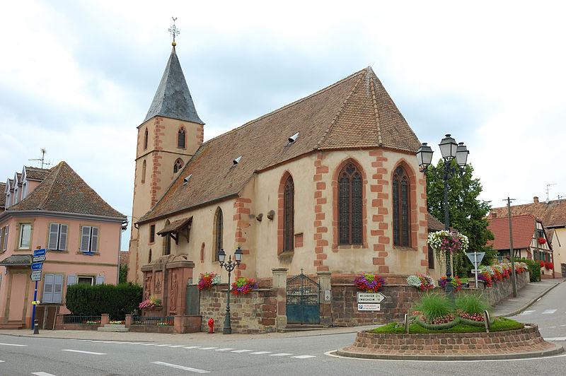 Photo du Monument Historique Chapelle Saint-Wendelin situé à Hochfelden