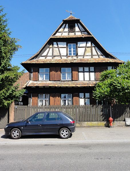 Photo du Monument Historique Ferme situé à Hoerdt