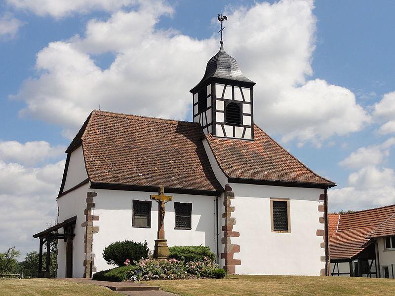 Photo du Monument Historique Eglise protestante de Leiterswiller situé à Hoffen