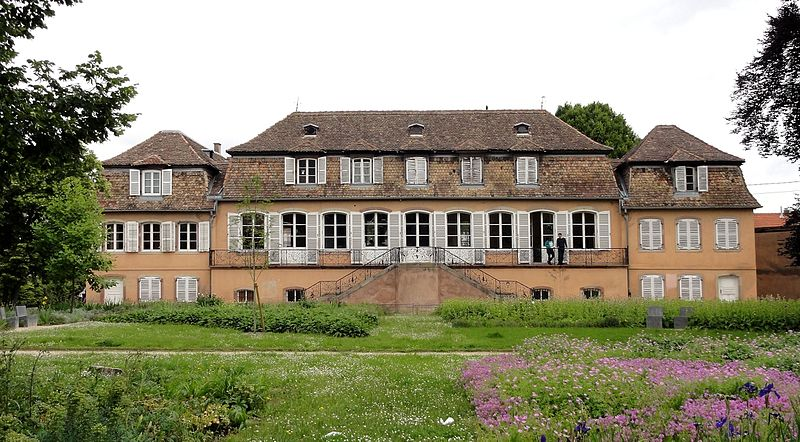 Photo du Monument Historique Ancien château Klinglin situé à Illkirch-Graffenstaden