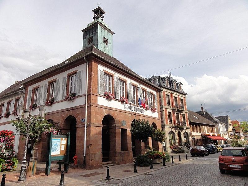Photo du Monument Historique Hôtel de ville situé à Ingwiller
