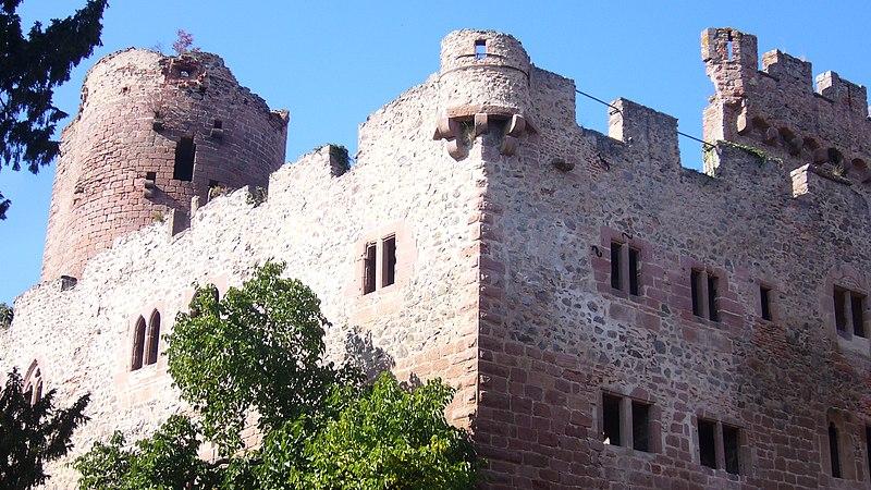 Photo du Monument Historique Ruines du château situé à Kintzheim