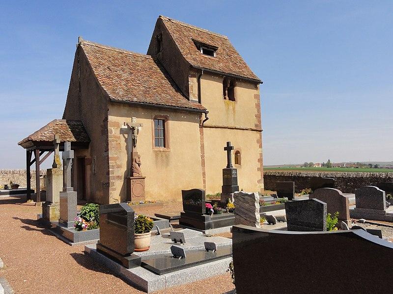 Photo du Monument Historique Cimetière et sa chapelle situé à Kleingoeft