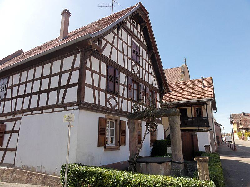 Photo du Monument Historique Puits situé à Kolbsheim