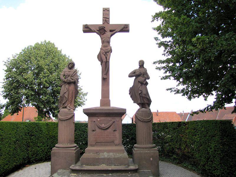 Photo du Monument Historique Calvaire situé à Lauterbourg