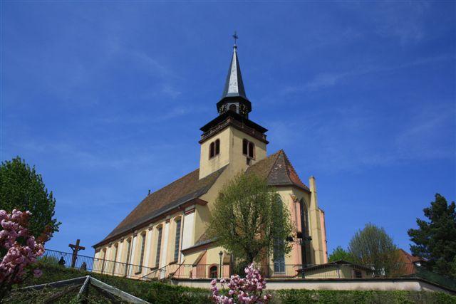 Photo du Monument Historique Eglise catholique de la Trinité situé à Lauterbourg